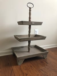 TWO 3 tier stands  Ashburn