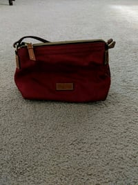 Red mini purse DB Triangle, 22172