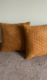 Pillow suede material. Decorative