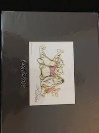 2007 lithograph Disney Winnie the Pooh and friends Minneapolis, 55404