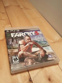 ps3 farcry 3 Montreal, H2W 2H3