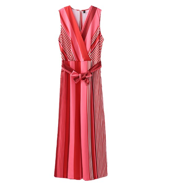 VIBEZ DOLLS V NECK JUMPSUIT IN RED CHERRY COLOR 83a78031-8cd7-4733-95a5-90f7fc7ca1bb