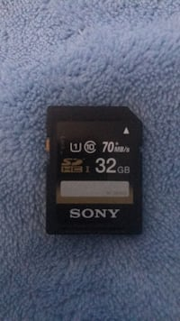 SONY 32GB-70MB/s-SD Card Chicago, 60632