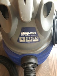 Gray and blue shop-vac vacuum cleaner Mint Hill, 28227