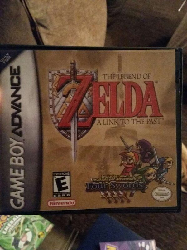 Zelda A Link to the Past - Nintendo GBA