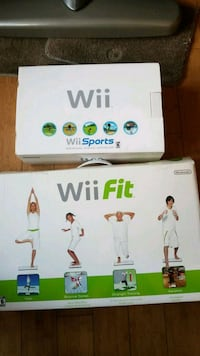 Nintendo, Wii Sports & Fit, 2 controllers used a few times Chicago, 60638