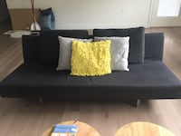 Bensen Sofa Bed with EQ3 Throw Pillows Burnaby, V5C 4A7