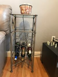 Pewter Wine Rack Pier One