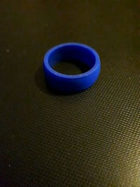 Blue silicone band - brand new
