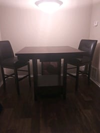 brown wooden table with chairs Stone Mountain, 30083