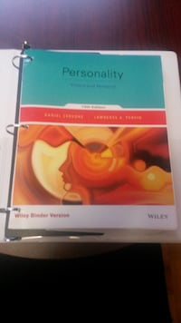Personality Theory and Research 13th Edition null