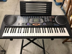 Casio CTK-533 Keyboard Piano with Stand