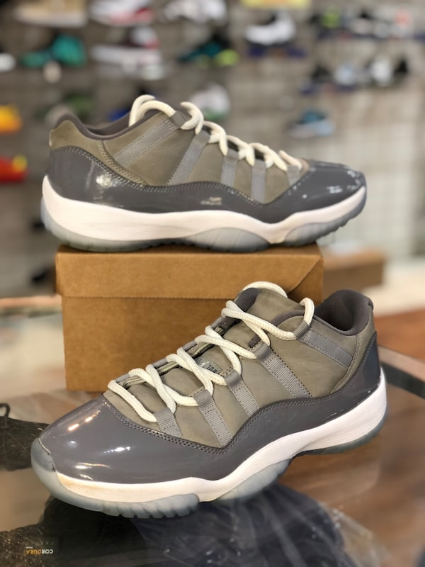 Cool grey 11s Low size 9
