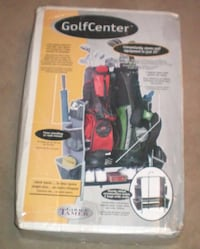 Dual Golf Bag and Accessory Organizer by Garage Tamer NIB