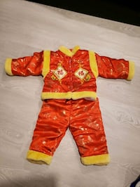 Infant chinese New Year Outfit Markham, L3P 7A8