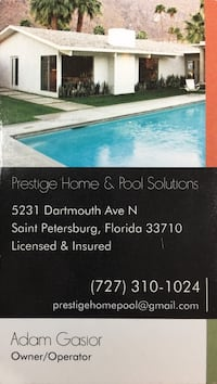 Home and Pool Service Discount Saint Petersburg