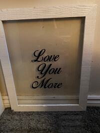 Love you more glass frame Mississauga, L4X 1R8