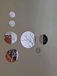 Decorative tree Mirrors