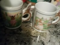 Two bunny mugs  Hamilton