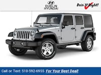 2017 Jeep Wrangler Unlimited Sport Dublin, 94568