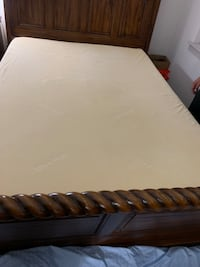 "Bob o pedic memory foam 10"" queen sz Rockville, 20850"