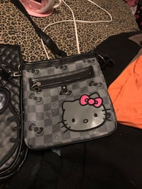 Black and gray hello kitty crossbody  Fontana, 92337