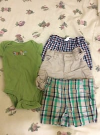 3 month only shorts and onesie  Belleville, K8P 3B6