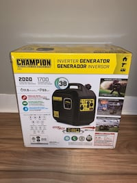 Brand New 2000 Watt Inverter Generator
