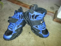 pair of blue-and-black Nike basketball shoes Chesterfield