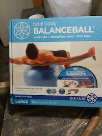Gaiam Total Body Balance Ball box Hemet, 92545