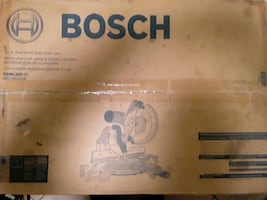 Bosch 12 inch dual bevel mitre saw brand new in box
