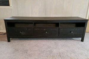 TV Stand with stain