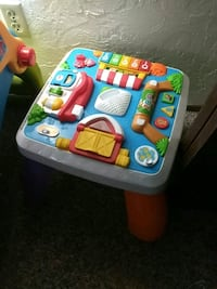 white and blue activity table Albany, 97321