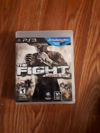 Sony PS3 the fight game St. John's, A1A 3L2