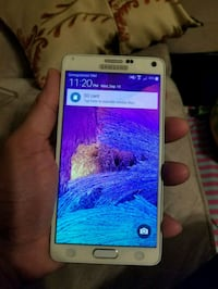Samsung note 4 white (mint) Mississauga, L4Z