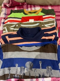 5 pieces of long sleeves shirt for boys sizes 4T Mississauga