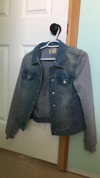 blue denim button-up jacket Kamloops, V2B 5Y8
