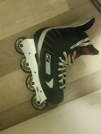 black-and-white inline skates Toronto, M5A 2B6