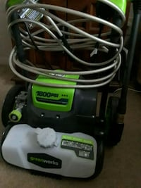black and green Ryobi pressure washer Newport News, 23602