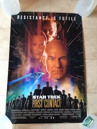 Star Trek First Contact Poster (Used) Annandale, 08801