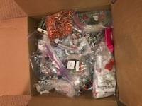 Hundreds of dollar worth of beads glass and sets galore