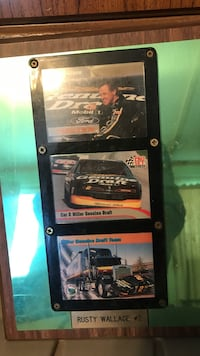 rusty wallace racing poster
