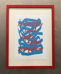 Abstract Print from South Africa  New York, 11226