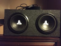 "10"" JL Audio subs with amp  Columbus, 43202"