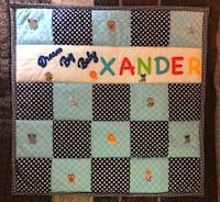 Personalized new born baby blanket made on order Guilderland, 12084