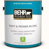 2 gallons new BEHR ultra pure white Alexandria, 22303