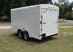 fall in love with2014 Bendron titan cargo trailer
