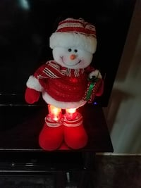 red and white snowman doll Lewiston, 83501