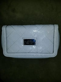 BRAND NEW Guess Gray Double Zip Wallet