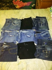 Womens jeans size 15.... $2.50 each